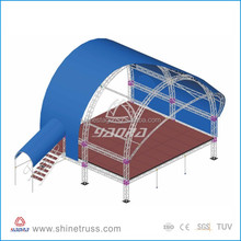 Lamp/LED lighting/expo truss/exhibition trade booth truss