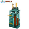 PET bottle cans vertical hydraulic baler /plastic scrap paper baling machine