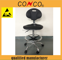 High Quality Swivel and Adjustable Lab Chair with Backrest esd chair