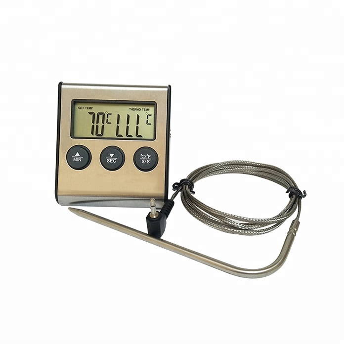 Bluetooth Wireless Meat Thermometer Probe for BBQ Grilling