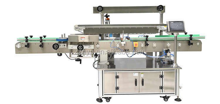 China Automatic NY-823 Double Side Sticker Labeling Machine for Plastic Bottle