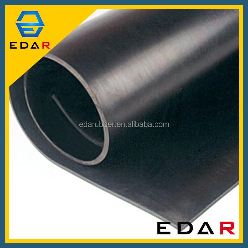 Heat Resistance Industrial 10Mm Thickness Sbr Insulating Rubber Sheet