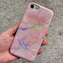 Wholesale Marble Holographic IMD TPU Mobile Cover Custom Marble Phone Case for Apple iPhone 8 x 10