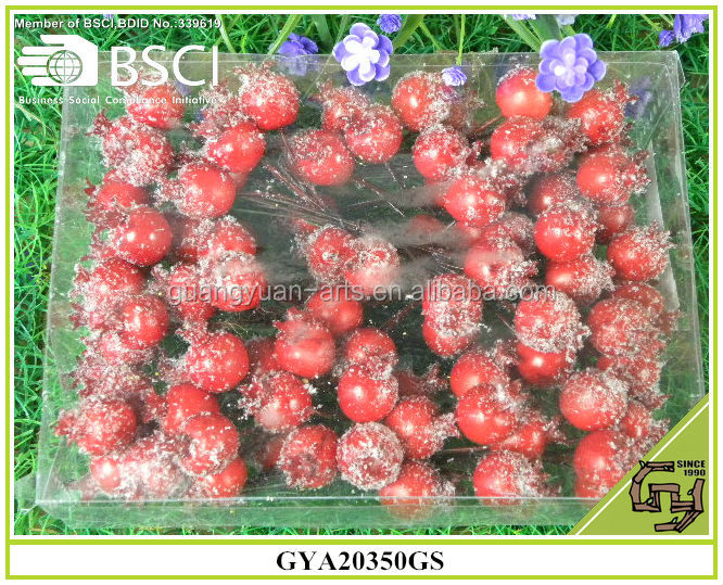 2015 home decorative artifical red berry