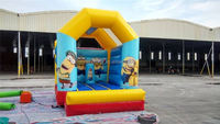 Yellow Little Character Cheap Bouncer Inflatables For Sale