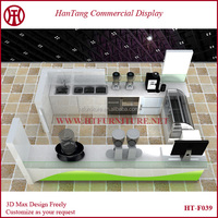 Hot sale well designed wooden mall food kiosk mall food kiosk design with necessary equipments