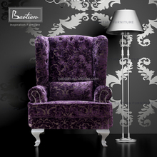 Baotian Furniture Antique Appearance Chesterfield Chair for Home and Hotel