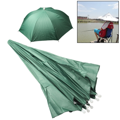 Umbrella Hat Golf Fishing Camping Headwear Cap (Random Color Delivery)