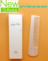 Cheaper plastic disposable hotel comb amenities for HOTEL use