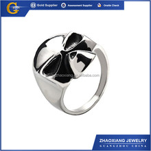 RR0091 fashion jewelry 316l stainless steel silver male skull ring