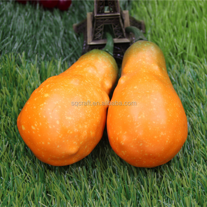 Halloween decorative foam pumpkin Artificial vegetables for party and holiday decoration