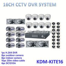 2013 HOT!!! 16ch Economic complete cctv system, easy to use home alarm system