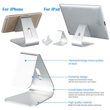 Hot selling Aluminum Micro-suction phone stand holder tablet stand