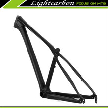 2016 29er Wholesale bike frames Hard tail chinese carbon mtb frames with Disc brake Toray carbon T700 Bike frames