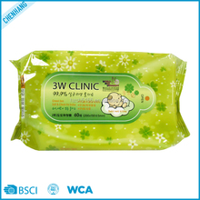Skin Care Non-Woven Baby Care Oil Wet Wipes Fabrics