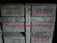 Xinxing Steel Grating_Zinc material for galvanizing