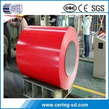 Oriental supplier high quality color coated prepainted galvanized steel sheet coil