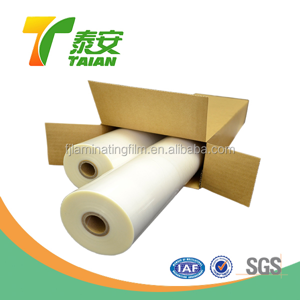 high glossy or matt 120 gsm release paper cold lamination film