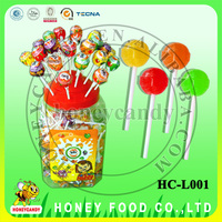 Assorted Flavor Halal Lollipop Candy