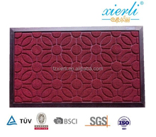 Rubber backing ,PP loop surface, outdoor use, fire proof floor mat