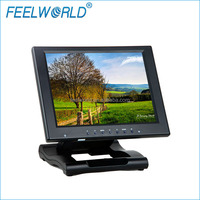 High definition new 10 inch vga hdmi touchscreen monitor with DVI AV inputs computer display