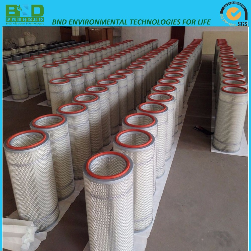 Wholesale Water repellency Polyester Cartridge Filter