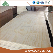 4.6mm BB CC Furniture Grade Plywood Sheets Knotty Pine Plywood Sheets