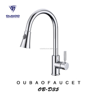 faucets made in china pull out kitchens sink mixer china faucet factory single handle water taps high quality low price OB-D35