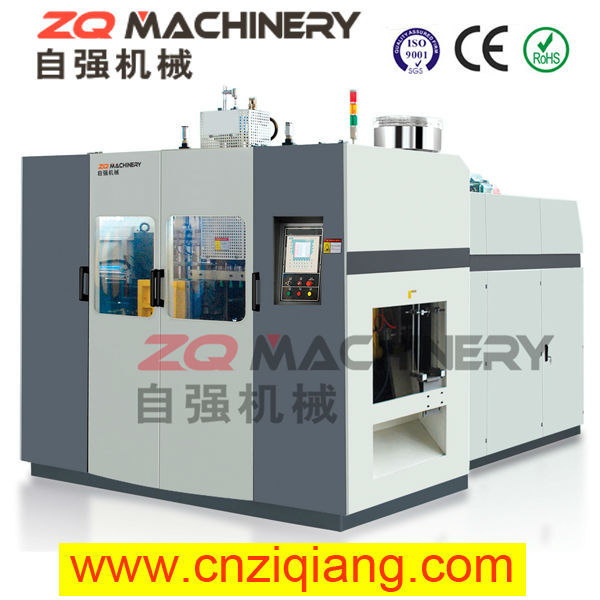 bottle blow molding machine two-color plastic pe film extrusion machine