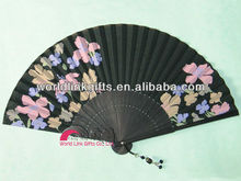 Make chinese fabric hand fans