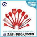 High Quality Kitchen Tools Stainless Steel Silicone Cooking Utensil Set