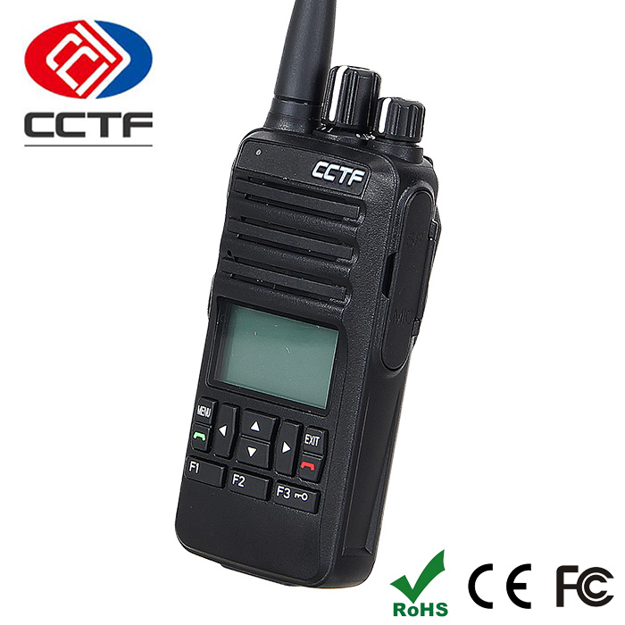 D-568C The Security Guard 5W 2W UHF DPMR Walkie Talkie 400-470MHz Long Distance Wireless Digital Two Way Radio