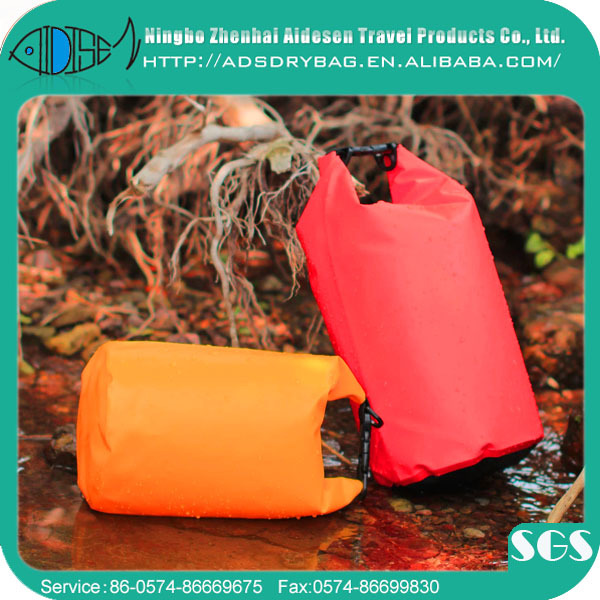 waterproof beach bike boat camping diving TPU PVC nylon dry floating swimming tarpaulin bag 1.5l 5l 10l 20l