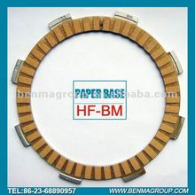 Paper base clutch fiber,With Kevlar material increase frictional factor!