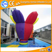 Giant inflatable flower decoration, new inflatable flower wedding