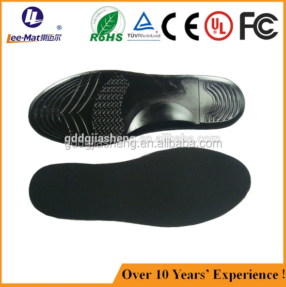 Solide gel insole and PU gel insole can adopt magnet