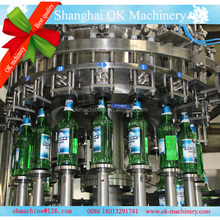 washing filling capping beer bottling machine/plant