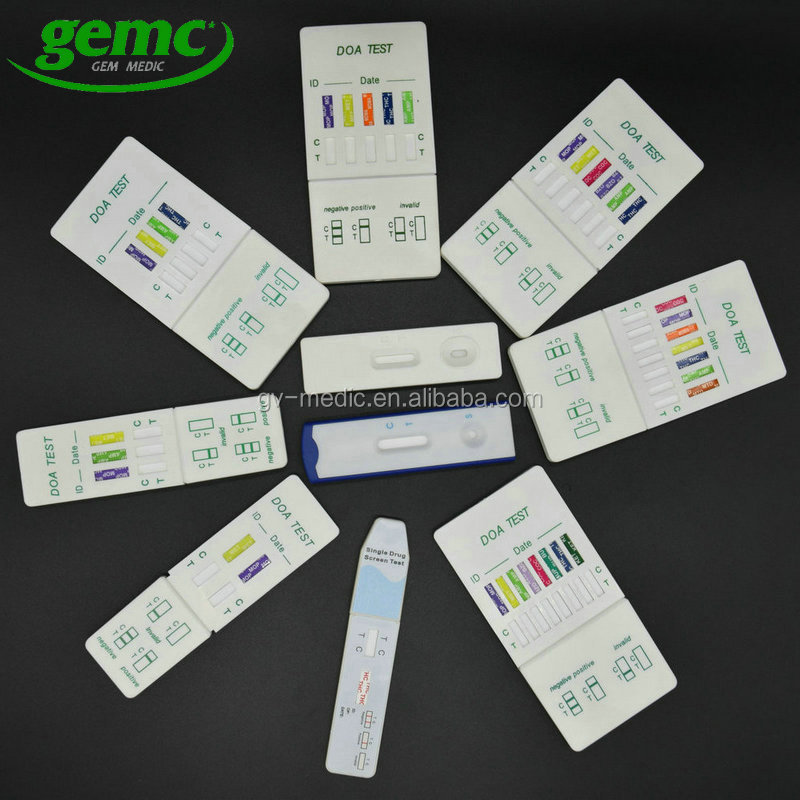 Rapid urine DOA abuso di Droga kit per il Test/diagnostica medica AMP/VELOCITÀ/AMPH/WHIZZ striscia reattiva