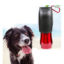 300 600 750ml Stainless steel outdoor travel portable drinking pet dog water bottle