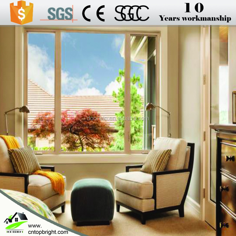 2017 hottest double glazed aluminum sliding window