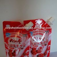 Standup Bag Pouch Filling Sealing Packing