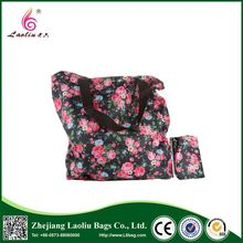 New products 2017 polyester bag cheap tote folding shopping bags
