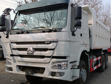 sinotruk howo 6x4 trucks dump as mining transport vehicles with heavy duty truck lifts