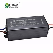 High quality DC12-24V 50w 1500mA ip65 waterproof boost 12v led driver for solar light