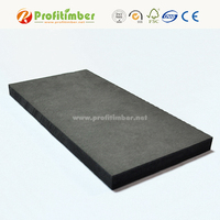 Profitimber 1220mmX2440mm Raw Black Waterproof MDF