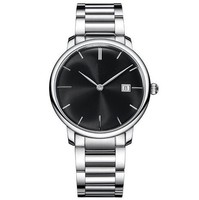 LongBo Watches advertisement unisex quartz advance 3atm quartz stainless steel back watch