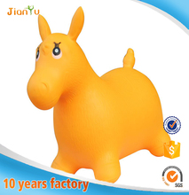 High quality PVC exercise inflatable toy Jumping animal toy for kids bouncing animal toy