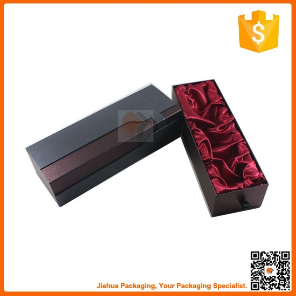 mini portable custom paper wine boxes for packaging