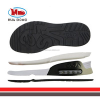 Sole Expert Huadong,2015 Latest Shoe sole maker with air cushion airpillow PU sole