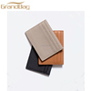 classic design top grain leather business card holder wallet